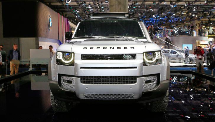 Land Rover Defender 2019, dati e informazioni - Foto 26 di 47