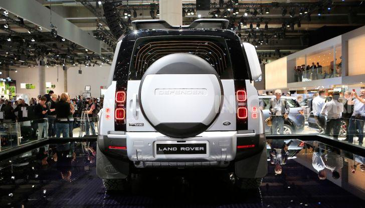 Land Rover Defender 2019, dati e informazioni - Foto 5 di 47