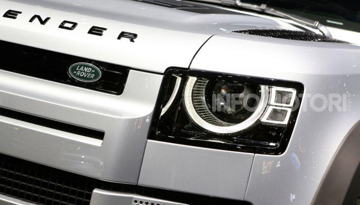 Land Rover Defender 2019, dati e informazioni - Foto 16 di 47