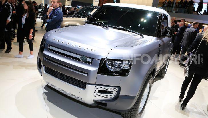 Land Rover Defender 2019, dati e informazioni - Foto 6 di 47
