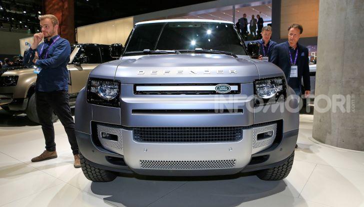 Land Rover Defender 2019, dati e informazioni - Foto 4 di 47