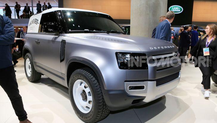 Land Rover Defender 2019, dati e informazioni - Foto 19 di 47
