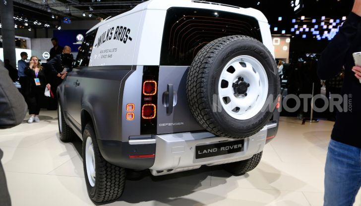 Land Rover Defender 2019, dati e informazioni - Foto 21 di 47