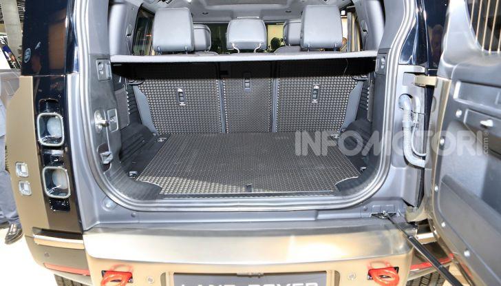 Land Rover Defender 2019, dati e informazioni - Foto 18 di 47