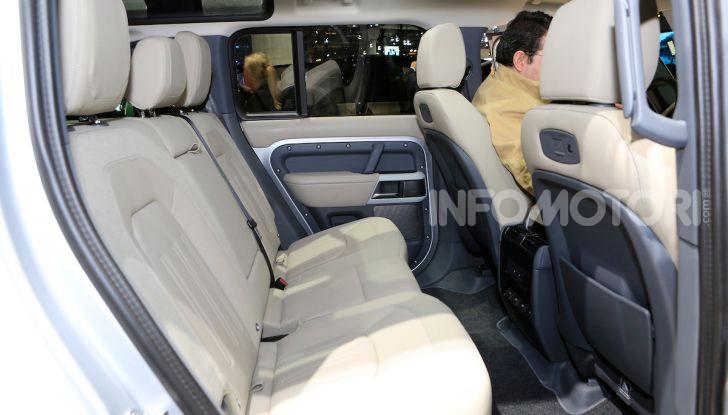 Land Rover Defender 2019, dati e informazioni - Foto 24 di 47