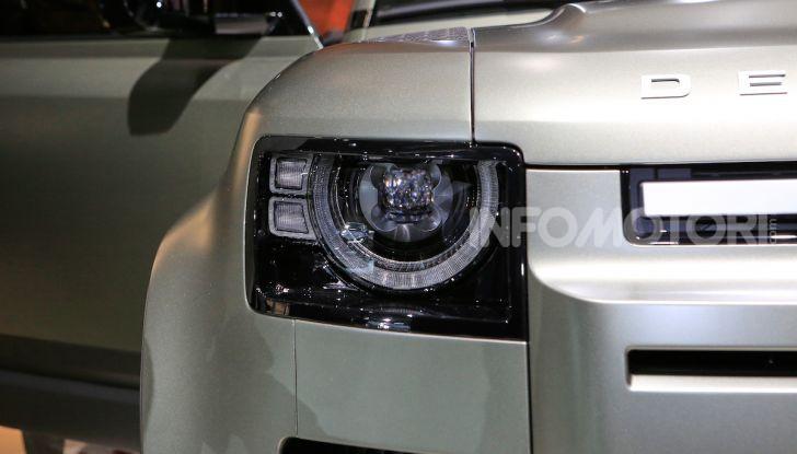 Land Rover Defender 2019, dati e informazioni - Foto 31 di 47