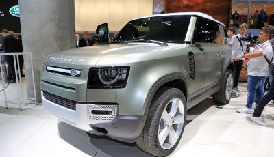 Land Rover Defender 2019, dati e informazioni