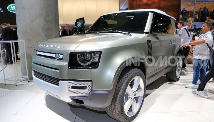 Land Rover Defender 2019, dati e informazioni - Foto 32 di 47
