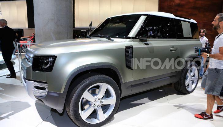 Land Rover Defender 2019, dati e informazioni - Foto 35 di 47