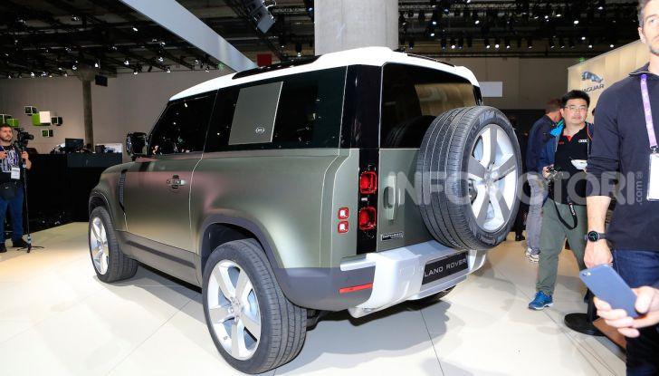 Land Rover Defender 2019, dati e informazioni - Foto 25 di 47