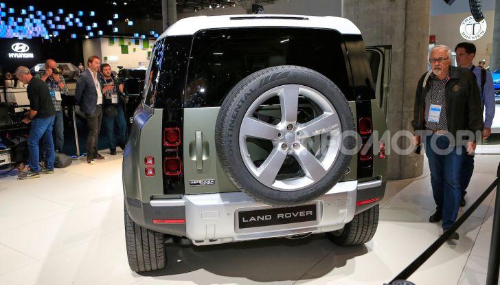 Land Rover Defender 2019, dati e informazioni - Foto 36 di 47