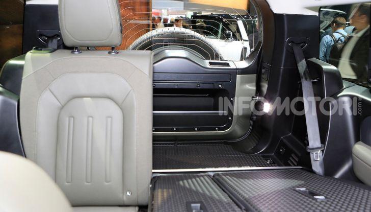 Land Rover Defender 2019, dati e informazioni - Foto 39 di 47