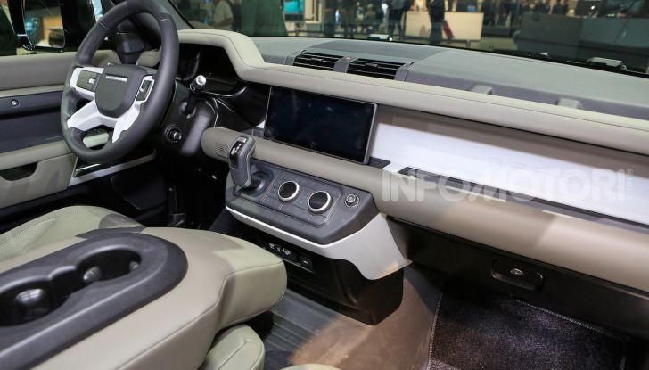 Land Rover Defender 2019, dati e informazioni - Foto 12 di 47