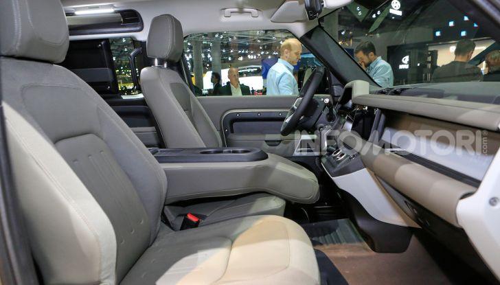 Land Rover Defender 2019, dati e informazioni - Foto 41 di 47