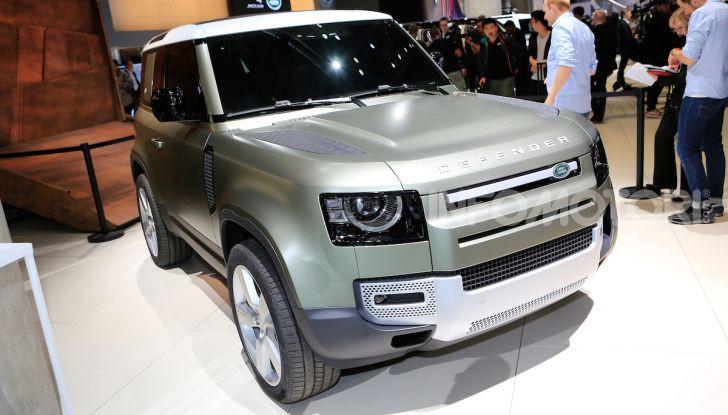 Land Rover Defender 2019, dati e informazioni - Foto 1 di 47