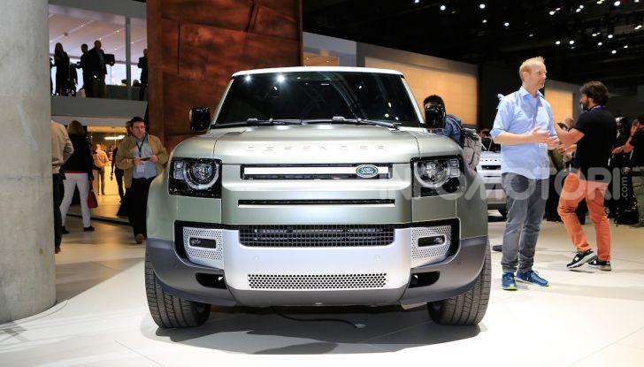 Land Rover Defender 2019, dati e informazioni - Foto 45 di 47