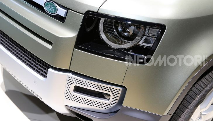 Land Rover Defender 2019, dati e informazioni - Foto 37 di 47