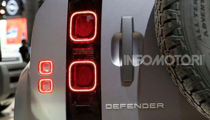 Land Rover Defender 2019, dati e informazioni - Foto 46 di 47