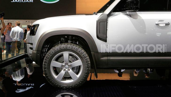 Land Rover Defender 2019, dati e informazioni - Foto 10 di 47