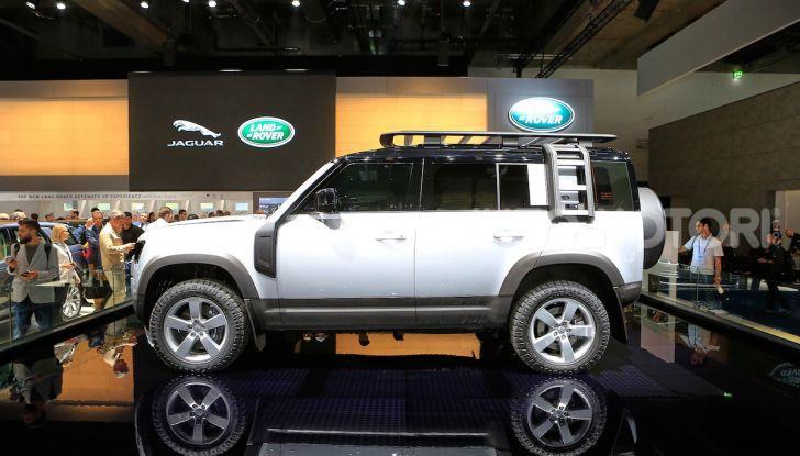 Land Rover Defender 2019, dati e informazioni - Foto 11 di 47