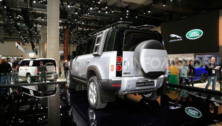 Land Rover Defender 2019, dati e informazioni - Foto 14 di 47