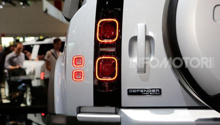 Land Rover Defender 2019, dati e informazioni - Foto 15 di 47