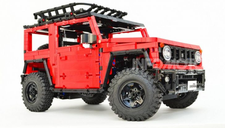 Lego Suzuki Jimny Sierra: il set costa meno di 100 euro - Foto 2 di 8