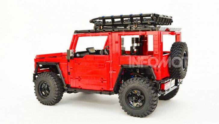 Lego Suzuki Jimny Sierra: il set costa meno di 100 euro - Foto 3 di 8