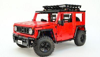 Lego Suzuki Jimny Sierra: il set costa meno di 100 euro