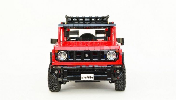 Lego Suzuki Jimny Sierra: il set costa meno di 100 euro - Foto 4 di 8