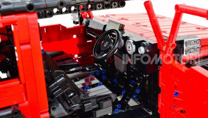 Lego Suzuki Jimny Sierra: il set costa meno di 100 euro - Foto 5 di 8