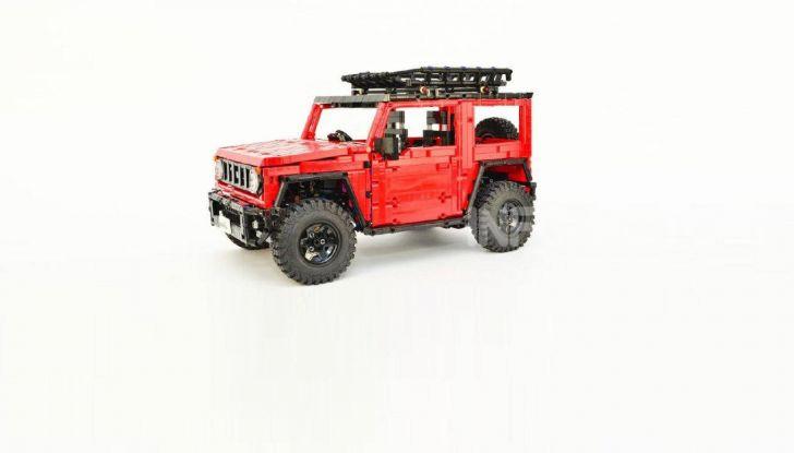 Lego Suzuki Jimny Sierra: il set costa meno di 100 euro - Foto 6 di 8