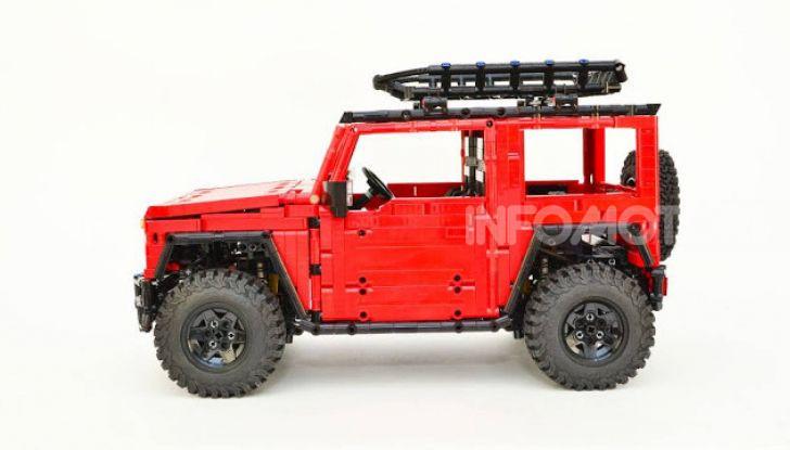 Lego Suzuki Jimny Sierra: il set costa meno di 100 euro - Foto 7 di 8