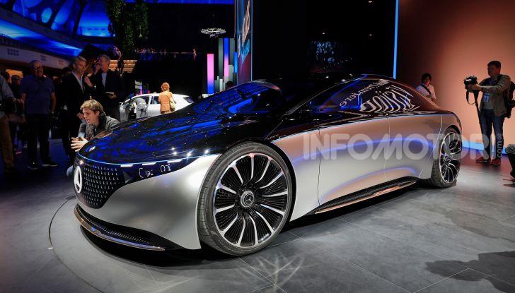 Mercedes-Benz Vision EQS: eleganza, tecnologia e prestazioni full electric - Foto 6 di 30