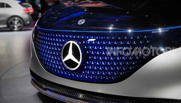 Mercedes-Benz Vision EQS: eleganza, tecnologia e prestazioni full electric - Foto 2 di 30