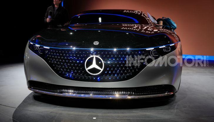 Mercedes-Benz Vision EQS: eleganza, tecnologia e prestazioni full electric - Foto 12 di 30