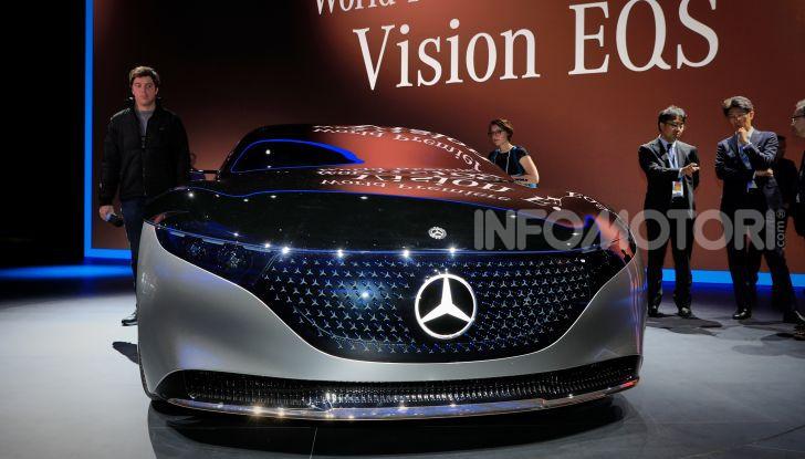 Mercedes-Benz Vision EQS: eleganza, tecnologia e prestazioni full electric - Foto 13 di 30