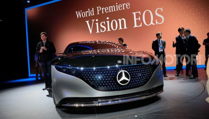 Mercedes-Benz Vision EQS: eleganza, tecnologia e prestazioni full electric - Foto 18 di 30