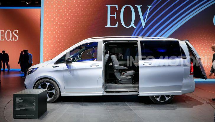 Mercedes Concept EQV: il primo monovolume premium 100% elettrico - Foto 12 di 16