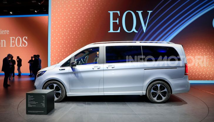 Mercedes Concept EQV: il primo monovolume premium 100% elettrico - Foto 13 di 16