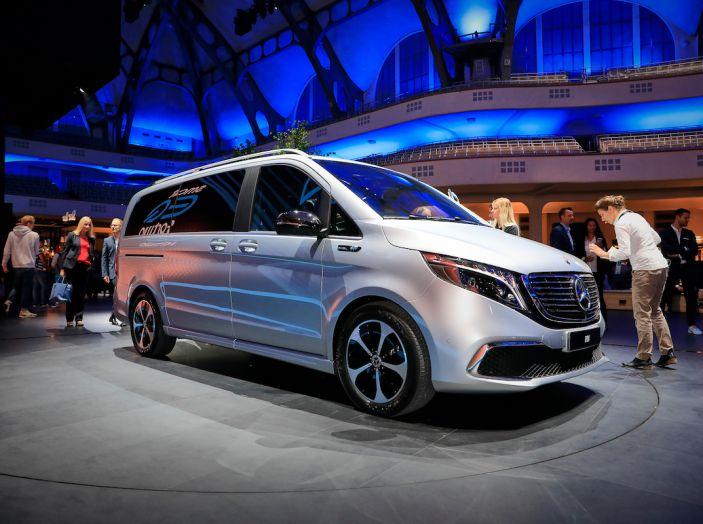 Mercedes Concept EQV: il primo monovolume premium 100% elettrico