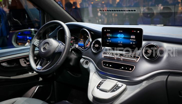 Mercedes Concept EQV: il primo monovolume premium 100% elettrico - Foto 10 di 16