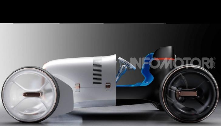 Mercedes Vision Simplex concept, tra passato e futuro - Foto 3 di 6