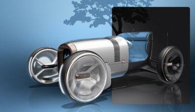 Mercedes Vision Simplex concept, tra passato e futuro