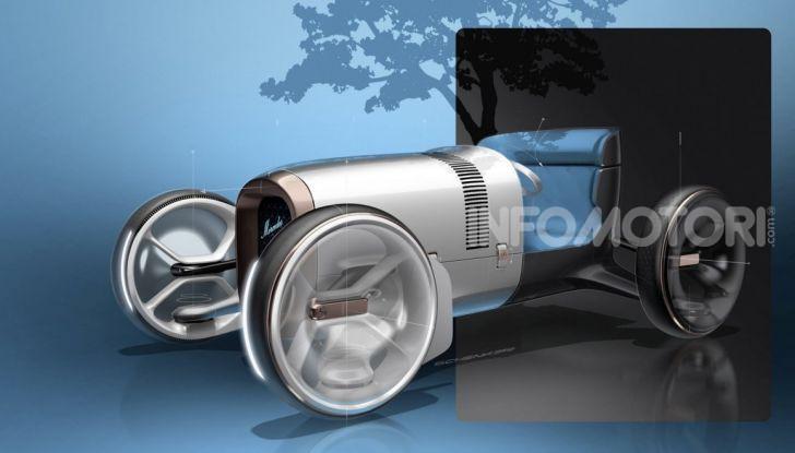 Mercedes Vision Simplex concept, tra passato e futuro - Foto 6 di 6