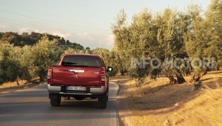 Prova nuovo Mitsubishi L200 2020: il pickup solido come la roccia! - Foto 22 di 44
