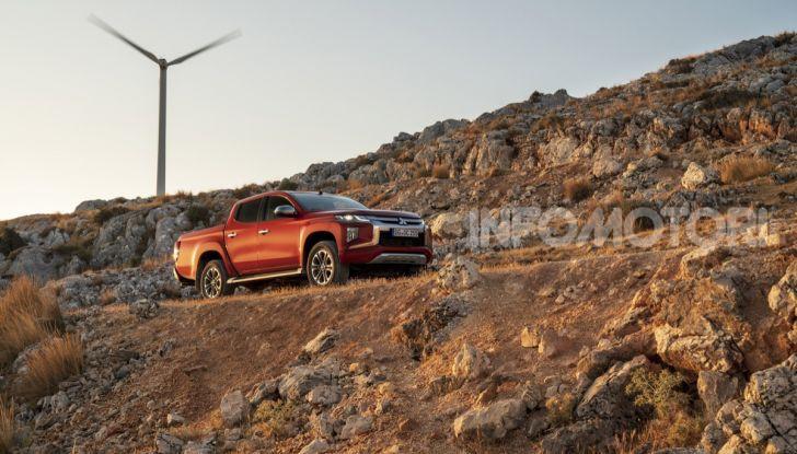 Prova nuovo Mitsubishi L200 2020: il pickup solido come la roccia! - Foto 26 di 44