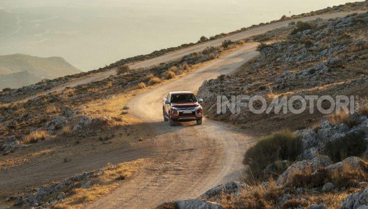 Prova nuovo Mitsubishi L200 2020: il pickup solido come la roccia! - Foto 12 di 44