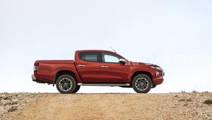 Prova nuovo Mitsubishi L200 2020: il pickup solido come la roccia! - Foto 33 di 44