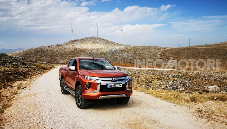 Prova nuovo Mitsubishi L200 2020: il pickup solido come la roccia! - Foto 1 di 44
